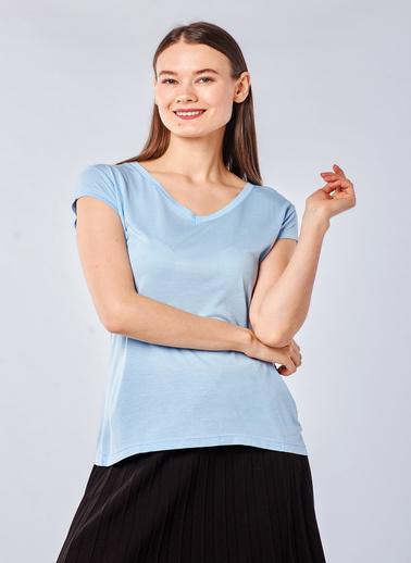 Coral Tişört Mavi